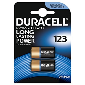 DURACELL 123ULTRA BATTERY PACK OF 2