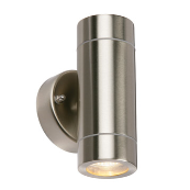 Saxby 13802 Wall Light GU10 2x35W S/S