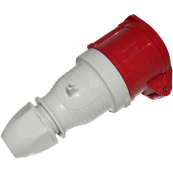 WALTHER CEE 16 AMP 5 PIN RED TRAILING SOCKET INDUSTRIAL