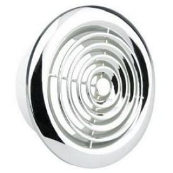 Manrose 2100C Circular Grille 100mm 4 INCH Chrome