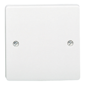 CRABTREE 4001 SINGLE BLANKING PLATE WHITE