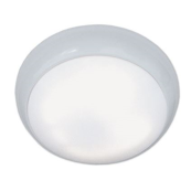 Lumineux 400772 LED Bulkhead 2D 16W White Polycarbonate