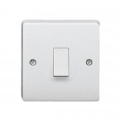 CRABTREE 20 Amp Double Pole Switch White