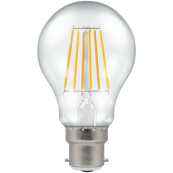Crompton 4207 LED DimmableGLS BC 7.5W 2700K Clear Filament