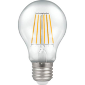 Crompton 4214 LED Dimmable GLS ES 7.5W 806 Lumens 2700K Clear Filament