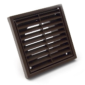 GFGRIL4B 4INCH FIXED GRILL BROWN