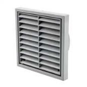 4 INCH FIXED GRILL GREY