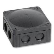 Wiska 10060580 Box 308/5 Black IP67.