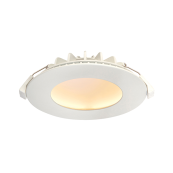 Saxby 66389 Orbital Recessed Downlight Warm White 12W
