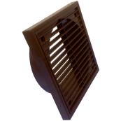 "6"" FIXED GRILLE BROWN"