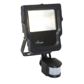 Ansell ACALED10/WW/PIR Floodlight & PIR 3000K