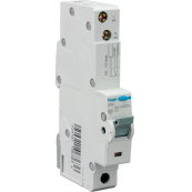 Hager ADN110 10 Amp Single Pole RCBO 6Ka Rated Type B For Single Phase Boards