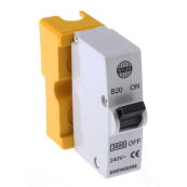 Wylex B20 Plug in MCB Yellow 20A