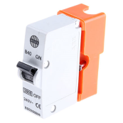 Wylex B40 Plug in MCB Orange 40A