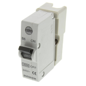 Wylex B6 Plug in MCB White 6A