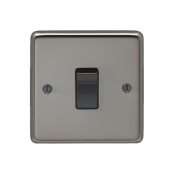 Eurolite BN20ASWB Switch 1 Gang Double Pole 20 Amp 86x86x7mm