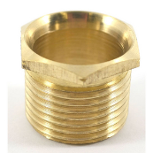 Conduit Male Bush Long 25mm Brass