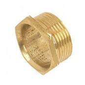 Conduit Male Bush Short 25mm Brass