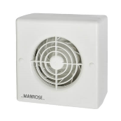 Manrose CF100T Fan Timer 100mm 4 Inch