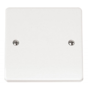 Click CMA017 Mode Connection Unit + Flex Outlet 20 Amp White Moulded Plastic
