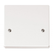 Scolmore Click Mode CMA215 45 Amp Cooker Connection Outlet Plate White Moulded Plastic