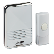 Knightsbridge DC003 Wirls Door Chime 80m white IP44