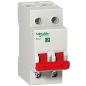 Schneider EZ9S16291 Easy9 2 Pole 100 Amp Switch Disconnector