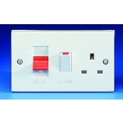 GET G45ACCU 45A COOKER CONTROL UNIT WITH SOCKET
