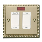 Click GCBR024WH Switch DP Sink 20A CB
