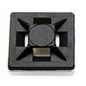 PARTEX HFC1/4BLACK CABLE TIE BASES