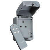 K/Bridge IP7000R 1 Gang Remote Socket 13 Amp
