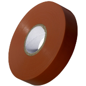 20MX19MM BROWN PVC INSULATION TAPE