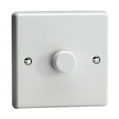 1G 400 WATT 2 WAY PUSH ON PUSH OFF TRAILING EDGE DIMMER