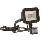 BG LFSP6B130 Slim Guardian LED Floodlight & PIR 8W 600lm.