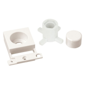 Click MD150PW Dimmer Unit Mounting Kit Polar White