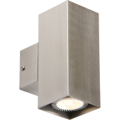 K/Bridge NH0184SQ Wall Light 2x35W S/S
