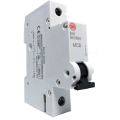 WYLEX NHXB40 SINGLE POLE MCB 40A 6kA TYPE B