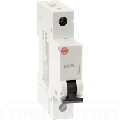 Wylex NHXC40 MCB Single Pole Type C 40 Amp 6kA