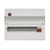 Wylex NM806 Consumer Unit 8 Way 100A Complies with new regulations