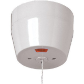 Click PRW213 Ceiling Switch Rnd 50A White