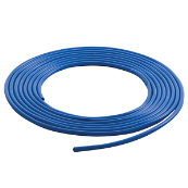 PVC3BLUE-P5 3MM BLUE SLEEVE 5 METRE PACK