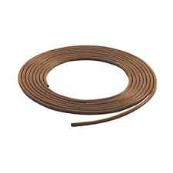 PVC4BROWN-P5 4MM BROWN SLEEVE 5 METRE PACK