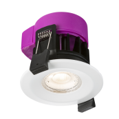 Knightsbridge RW6CW Downlight LED 4000K 6W Dimmable IP65 Cool White 690 Lumens