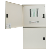 Schneider SEA9BN4 Distribution Board Three Phase 4 Way