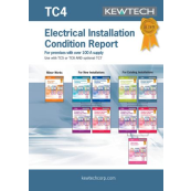 KEWTECH TC4 Report Pad Up to 100A A4