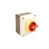 Switchtec 25 Amp 4P IP65 Rotary Isolator Switch