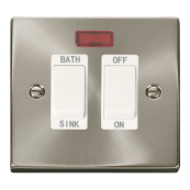 Click Deco VPSC024WH Switch DP Sink 20A SC