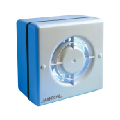Manrose WF100A Fan Standard 100mm 4 Inch Automatic